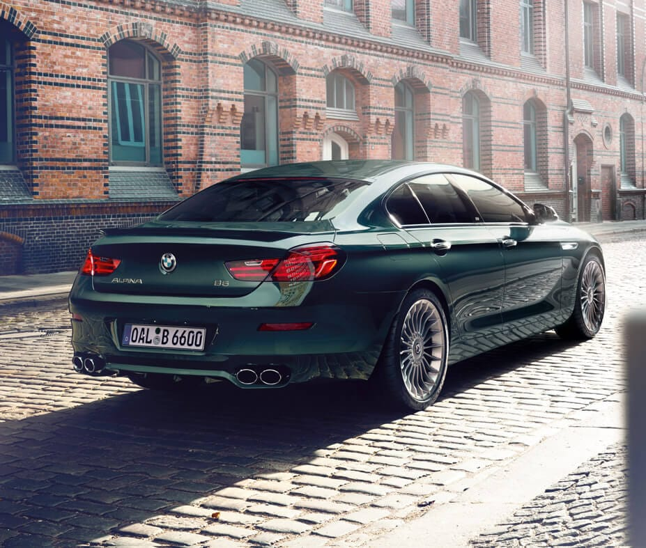 FEATURED PACKAGES OPTIONS MAKE YOUR ALPINA B6